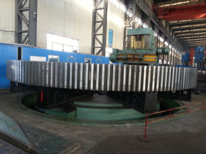 3.8m Diameter Thin Wall Girth Gear for Rotary Dryer pictures & photos