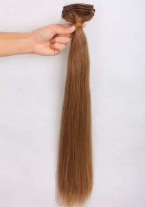 Virgin Clip in Hair Weave pictures & photos