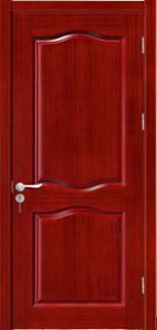 Hot Sale High Quality PVC Wooden Door with Fashion Design pictures & photos