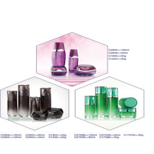 High Quality Luxury 50ml & 150ml Glass Cosmetic Jars Containers and Packaging pictures & photos