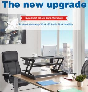 China Height-Adjustable Standing Computer Desk Laptop Desk