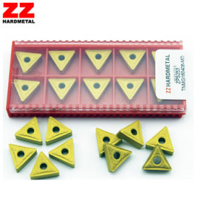 Coated or Uncoated Tungsten Carbide Cutting Inserts pictures & photos