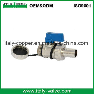 OEM&ODM Quality Forged Brass Plated Drain Ball Valve (IC-1050) pictures & photos
