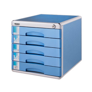 uk availability d0faa 327cf Office Use Aluminum 5-Drawers File Cabinet with Lock