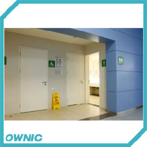 Toilet Door Manual Swing Door pictures & photos
