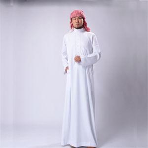 100%Polyester Arabic Thobe Fabric MID East Men Dress Fabric Spun Spun Superfine Fabric