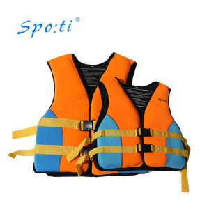 fd46aeb20a941 China Neoprene Adult Life Jacket with Open Lateral Waistbelt - China ...