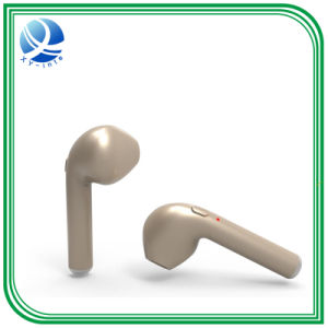 Stereo Noise Cancelling Earphone Ultra Mini Car Calls Bluetooth Wireless Headset with Mic for iPhone 7 Android PSP