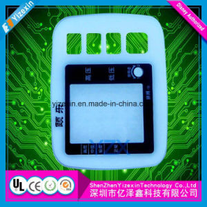 Tactile Capacitive Membrane Keyboard Switch with LCD Window