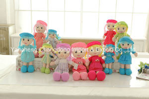Plush Soft Dolls with Wool Hair pictures & photos