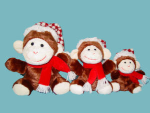 Plush Toy (Christmas Monkey)