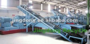 Waste Tyre Crush Production Line, Rubber Powder Production Line