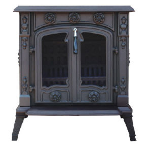 Cast Iron Stove, True Fire Wood Burning Stove (FIPA027)
