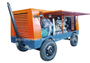 Air Cooled Piston Type Portable Air Compressor