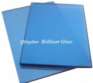 4mm, 5.5mm, 5mm, 6mm Dark Blue Reflective Glass
