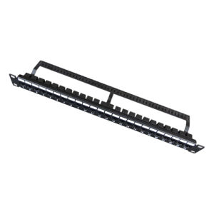 UTP Blank Patch Panel 24port with Back Bar