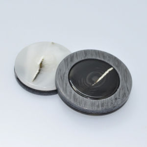 New Design Resin Combination Eco-Friendly Button for Leather