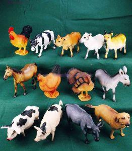 China Farm Animals, Farm Animal Action Figures, Big Bucket