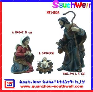 Polyresin Nativity Sets, Religious Crafts (NW1450A)