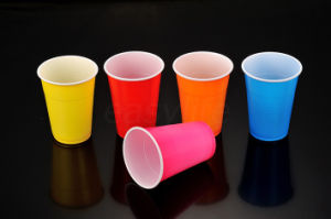 9oz (290ml) Bi-Color Plastic Cup (C097897) pictures & photos