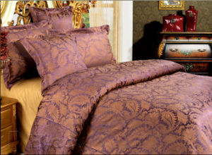 6PC Yarn Dyed Jacquard Bedding Set (813-08)
