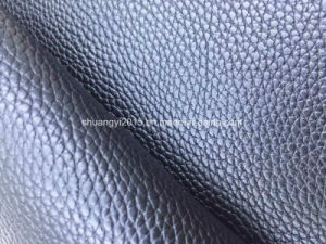 Classical Lychee Grain PVC Synthetic Leather for Bag pictures & photos