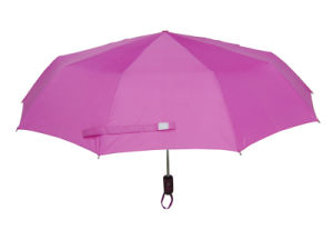 Fancy Auto Open&Close Umbrella with Watermark Cover pictures & photos