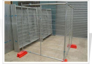 Hot-Dipped Galvanized Temporary Fencing S0185
