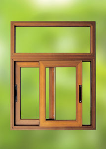 Extruded Aluminum Profile Sliding Window (pH-4427)