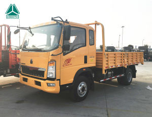 HOWO 4X2 Small Cargo Truck for Sale pictures & photos