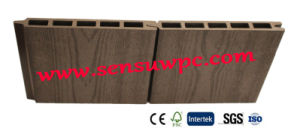 2017year Hot Sale WPC Decking with Hollow Type