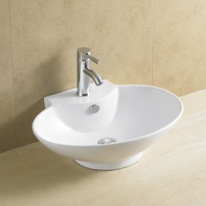 Oval Bathroom Art Basin Competitive Prices 8020