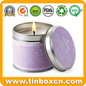 Round Tin Candle Can, Everyday Tin Box, Travel Tin Can pictures & photos
