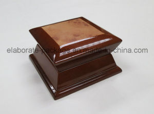 Luxury Special Shape Design Box Wooden Jewellry Case with Wooden Paper pictures & photos