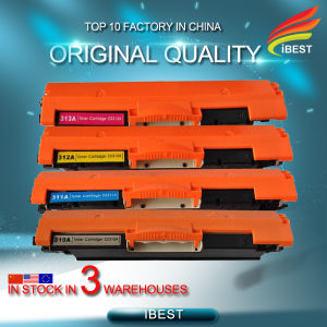 Compatible HP CE310A, CE311A, CE312A, CE313A CE314A Color Toner Cartridge