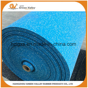 Ce Approved Wear Resistant Gym Rubber Mat Flooring Rubber Rolls pictures & photos