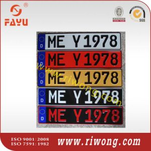 China Euro Car Number Plates Japan Car Number Plates China