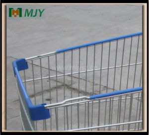 275 Liters Big Shopping Cart with Two Baby Seat Mjy-275b pictures & photos