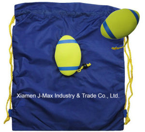 Foldable Draw String Bag, Rugby, Convenient and Handy, Leisure, Sports, Lightweight, Promotion, Accessories & Decoration pictures & photos