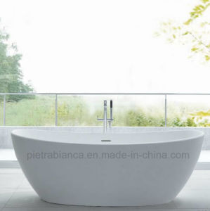 New Style Artificial Stone Freestanding Bathtub (PB1069M)