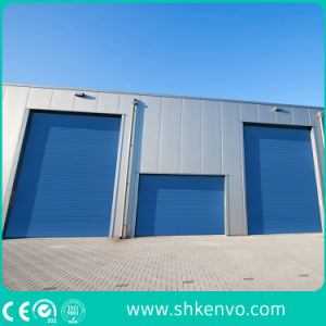 Fire Proof Metal Electric Overhead Garage Roller Shutter pictures & photos