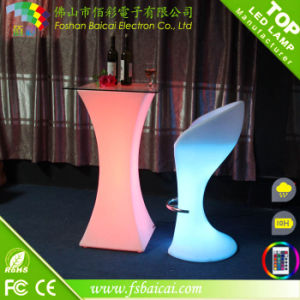 Event Acrylic LED Bar Cocktail Table