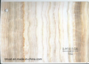 PVC Decorative Film Foil 0.16/0.18/0.25/0.3/0.35/0.4/0.5 mm Thickness for Interior Works. Marble pictures & photos