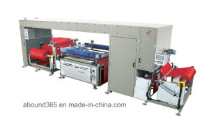 12010W Fabric Roll to Roll Screen Printing Machine for Non Woven Bag