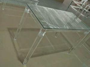 China Acrylic Table Manufacturer Making High Grade Transparent