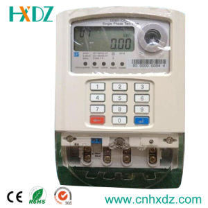 Keypad Prepaid Electric Energy Meter pictures & photos