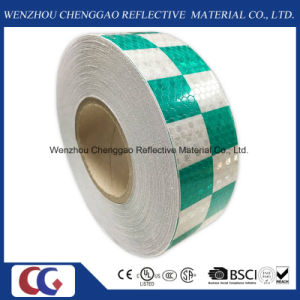 Chess Grid Pattern Warning Reflective Tape for Trailers (C3500-G) pictures & photos