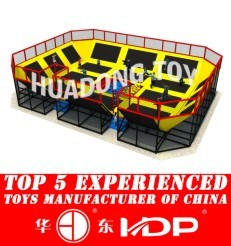 2017 Children Kids Outdoor/Indoor Playground with SGS\Ohsas18001\ISO9001\ISO14001 Certificate -Trampoline New Model 2015 HD15b-128b pictures & photos