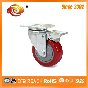 3 Inch Swivel Total Brake Medium Duty Caster