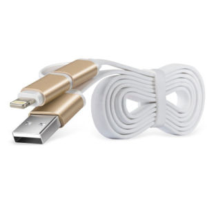 2 In1 Lightning Micro USB Data Cable pictures & photos